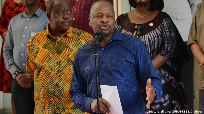 Kenya's Health Minister Mutahi Kagwe