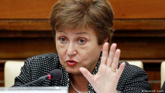 Директор-распорядитель Международного валютного фонда Кристалина Георгиева в Ватикане