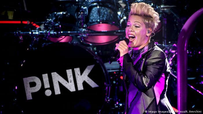 Sängerin Pink (Imago Images/ZUMA Press/A. Amrchini)
