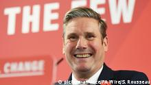 UK Neuer Labour Chef Keir Starmer (picture-alliance/PA Wire/S. Rousseau)
