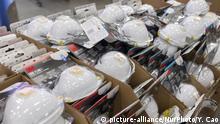 USA Schutzmasken in einem Geschäft in Kalifornien
