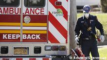 USA New York | Coronavirus | Krankenwagen, Notfall
