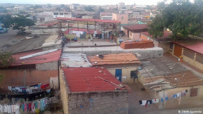 Ruas vazias em Luanda, a capital de Angola