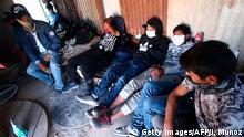 Chile Huara   Coronavirus   Menschen aus Bolivien