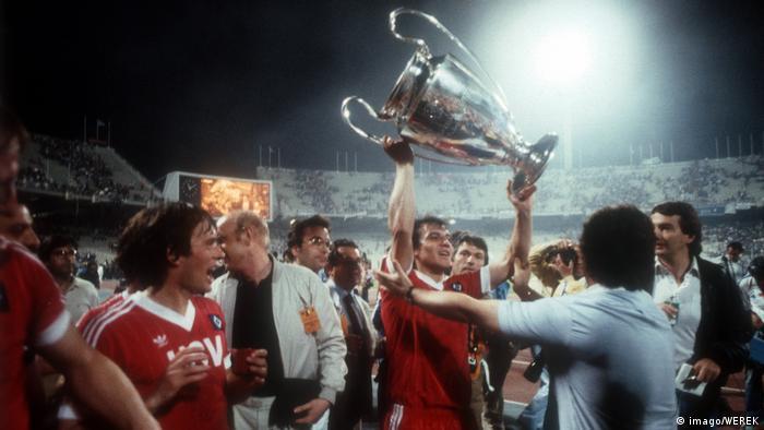 Allemagne HSV |  Felix Magath 1983 Athéna