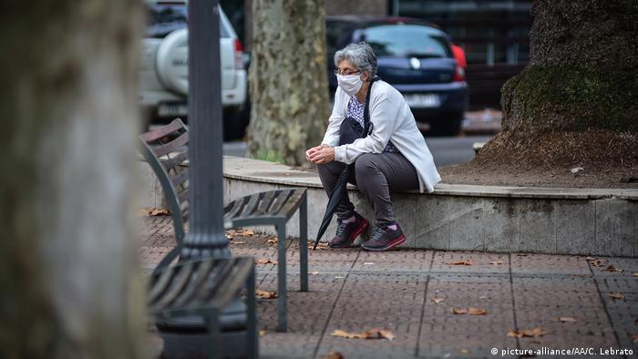 Uruguay Corona-Pandemie Straßenszene