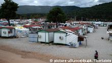 Griechenland Flüchtlingslager in Malakasa