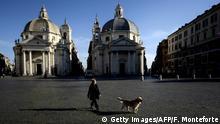 Italien Rom | Gassigehen in Coronazeiten