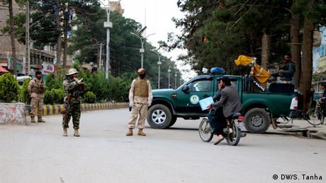 Afghanistan Herat   Ausgangsbeschränkungen während der Coronakrise (DW/S. Tanha)