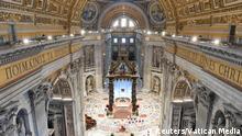 Vatikan Papst Franziskus Palmsonntag