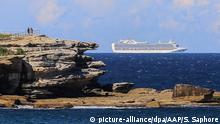 The Ruby Princess cruise ship (picture-alliance/dpa/AAP/S. Saphore)