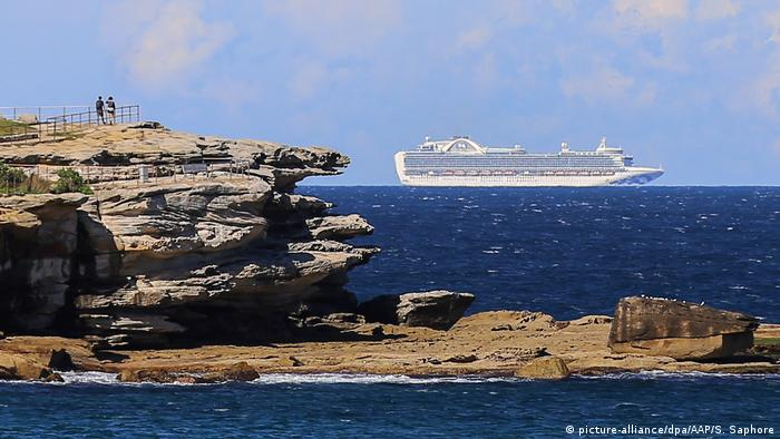 The Ruby Princess cruise ship