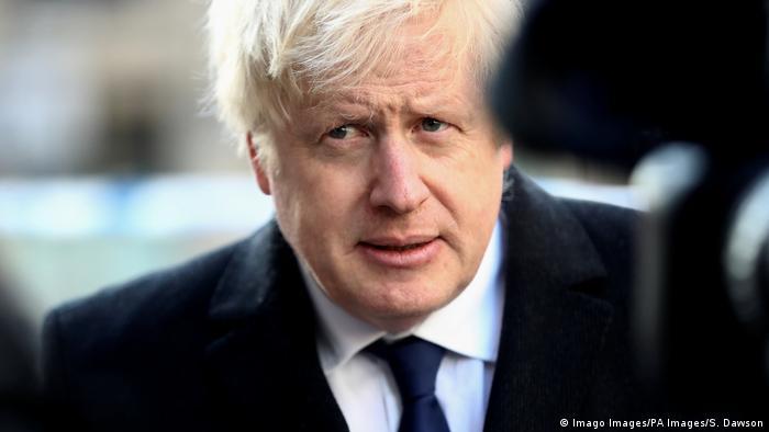 Boris Johnson Premierminister Großbritannien