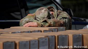 Foto de guardia nacional estadounidense