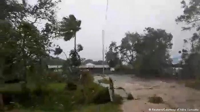 Vanuatu during Cyclone Harold