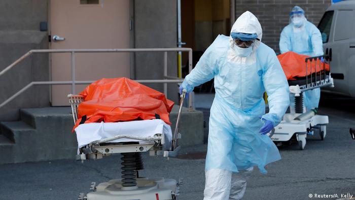 Жертви на коронавируса в Ню Йорк