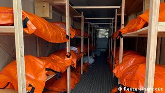 Foto de morgue en Nueva York
