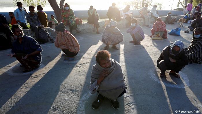 Indien Corona-Pandemie Lockdown (Reuters/A. Abidi)