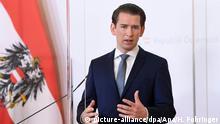 Österreich Bundeskanzler Sebastian Kurz