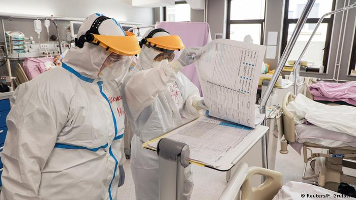 Coronavirus Serbien Novi Sad Krankenhaus