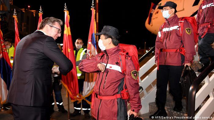 Vučić je prošlog marta dočekao pomoć iz Kine