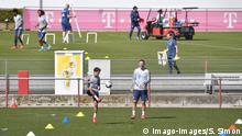 Deutschland Bundesliga | FC Bayern trainiert in Kleingruppen