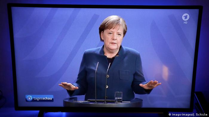 Coronavirus latest: Merkel says no social distancing end in sight