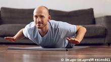 Symbolbild Fitness zu Hause