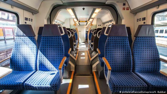 Deutschland Coronavirus Deutsche Bahn Personentransport