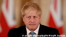 England | Coronavirus | Britischer Premierminister Johnson auf Intensivstation verlegt