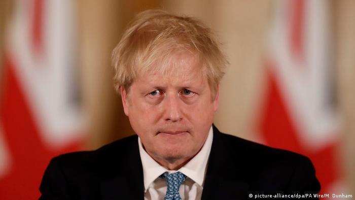 Премьер-министр Великобритании Борис Джонсон в Лондоне