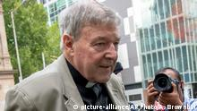 Australien Kardinal George Pell (picture-alliance/AP Photo/A. Brownbill)