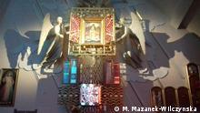 Polnische Kriegsgräber in Deutschland. Polnisch-Deutsche Gewerkschaften im Heiligtum in Pasierbiec Autorin: Monika Mazanek- Wilczynska Altar in Pasierbiec