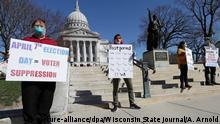 US-Bundesstaat Wisconsin Vorwahlen zur Präsidentschaftskandidatur