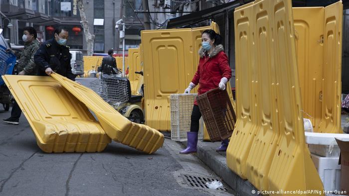 China Wuhan Rückkehr zur Normalität