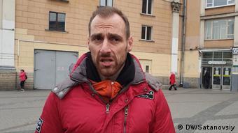 Сотрудник Ночлежки Григорий Свердлин
