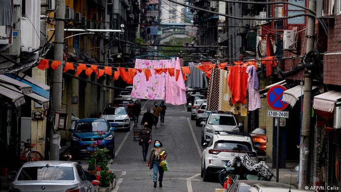 China Wuhan Rückkehr zur Normalität (AFP/N. Celis)