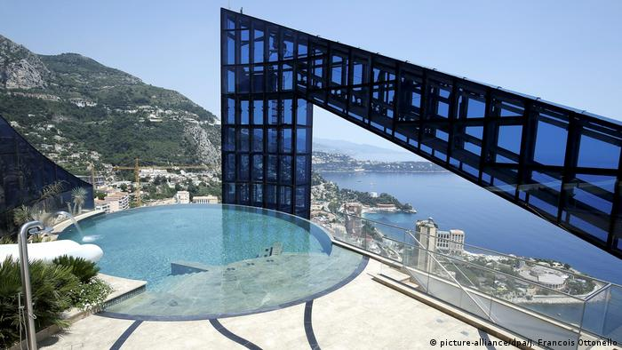 Monaco - Penthouse-Balkon desTour Odeon (picture-alliance/dpa/J. Francois Ottonello)