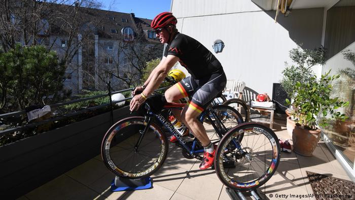 Hans-Peter Durst es un atleta de alto nivel.