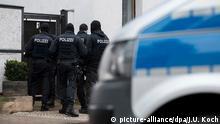Deutschland Erfurt Januar 2020 |Combat 18-Razzia