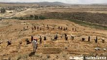 Äthiopien Wiederaufforstung in Tigray