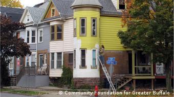 USA | Buffalo | Entbleiung von Häusern