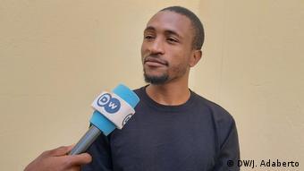 Martins Savimbuando angolanischer Student