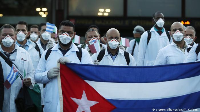 Kuba stellt medizinische Hilfe für das Ausland Coronavirus