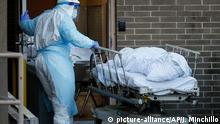 Coronavirus USA New York Zahl der Toten steigt
