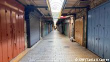Coronavirus Israel Jerusalem Altstadt Christliches Viertel