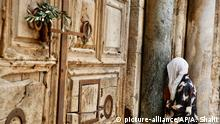 Coronavirus Israel Jerusalem Altstadt Palmsonntag Grabeskirche geschlossen