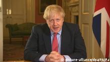Coronavirus Premierminister Boris Johnson