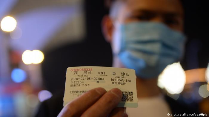 China Wuhan Normalität