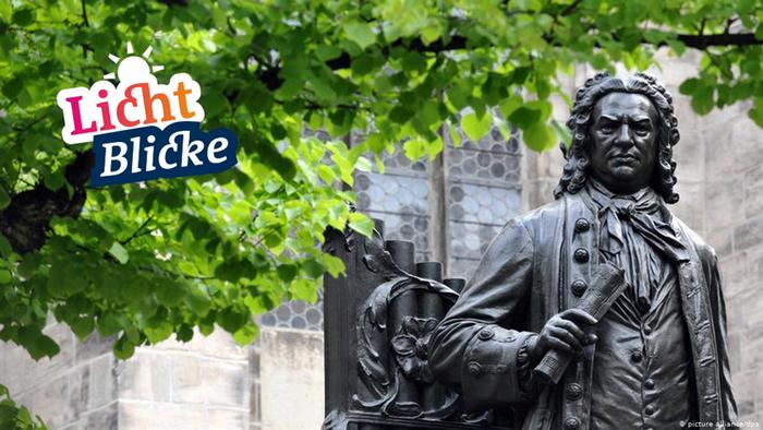 Escultura de Bach en Leipzig
